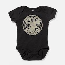 Chinese Zodiac Symbol Sheep Baby Bodysuit