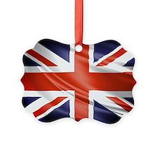 Artistic Union Jack Ornament