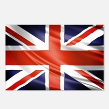 Artistic Union Jack Postcards (Package of 8)