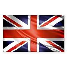Artistic Union Jack Decal