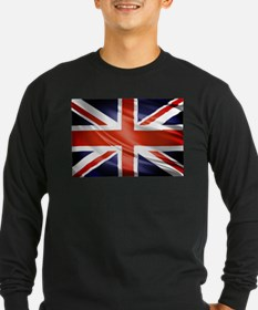 Artistic Union Jack Long Sleeve T-Shirt