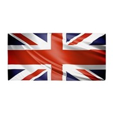 Artistic Union Jack Beach Towel