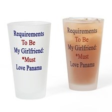 Requirements To Be My Girlfriend: * Drinking Glass