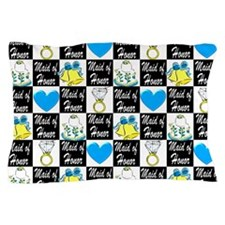 MAID OF HONOR LOVE Pillow Case