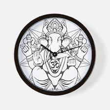 Cute Indian elephants Wall Clock