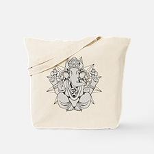Cute Ganesh Tote Bag