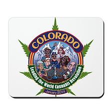 Colorado Cannabis Revolution Mousepad