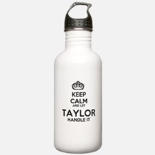 Keep calm TAYLOR Water Bottle