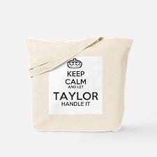 Keep calm TAYLOR Tote Bag