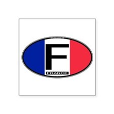 f-oval-colors Sticker