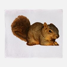 Squirrell Throw Blanket