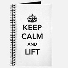 Keep calm and lift Journal