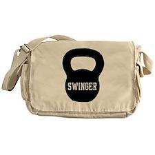 Kettlebell swinger Messenger Bag
