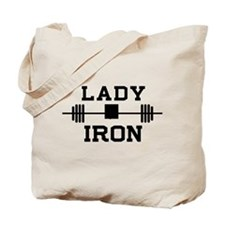 Lady of iron Tote Bag