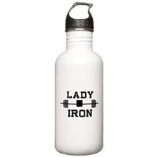 Lady of iron Water Bottle