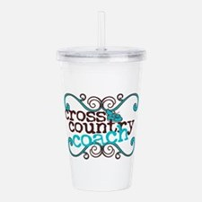 Cross Country Coach Acrylic Double-wall Tumbler