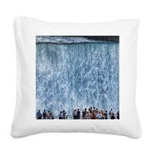 Niagra Falls Square Canvas Pillow