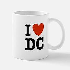I Love DC Mug