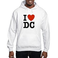 I Love DC Hoodie