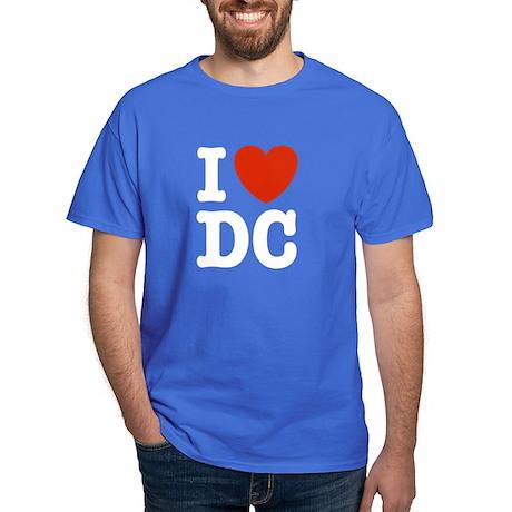 I Love DC Dark T-Shirt