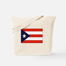 Flag of Puerto Rico 1 Tote Bag