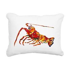 Lobster Rectangular Canvas Pillow