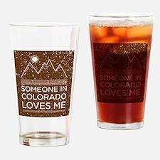 Cute Denver colorado Drinking Glass