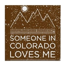 Cute Colorado Tile Coaster