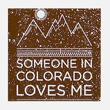 Cute Denver Tile Coaster