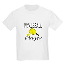 Pickleball player with paddle and ball T-Shirt