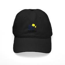 i love to play pickleball blue Baseball Hat