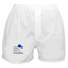 i love to play pickleball Boxer Shorts