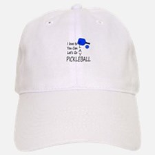 i love to play pickleball Baseball Baseball Baseball Cap