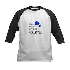 i love to play pickleball Baseball Jersey