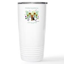 Cute Sunflower garden Travel Mug