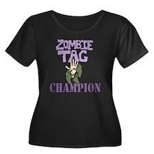 Zombie Tag Champ Plus Size T-Shirt