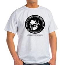 Dept of Wetland Security : Shore Patrol T-Shirt