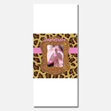 Breast Cancer Survivor Angel in Leopard Invitation