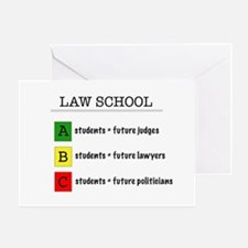 law student futures Greeting Card