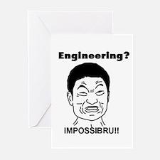 Engineering? Impossibru! Greeting Cards