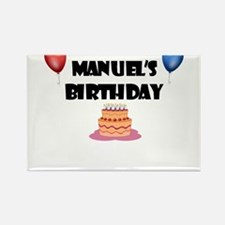 Manuel's Birthday Rectangle Magnet