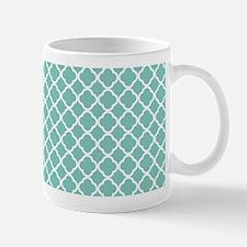 Tiffany Blue & White Moroccan Pattern Mug