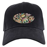 Sugar skull Hats & Caps