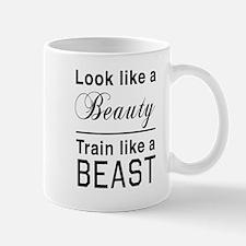 Look beauty train beast Mugs