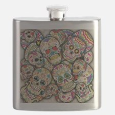 Cute Sugar skull Flask