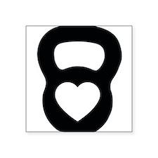 Love kettlebell Sticker