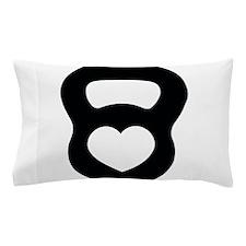Love kettlebell Pillow Case