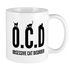 Obsessive cat disorder Mugs