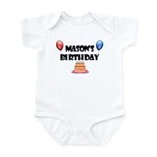 Mason's Birthday Infant Bodysuit