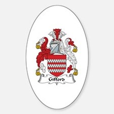 Gifford Oval Decal